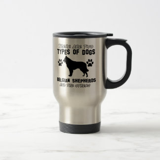 belgian shepherd gift items travel mug