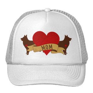 Belgian Shepherd Mom [Tattoo style] Trucker Hat