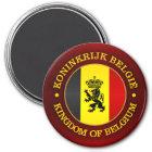 Belgian State Ensign Magnet
