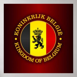 Belgian State Ensign Poster