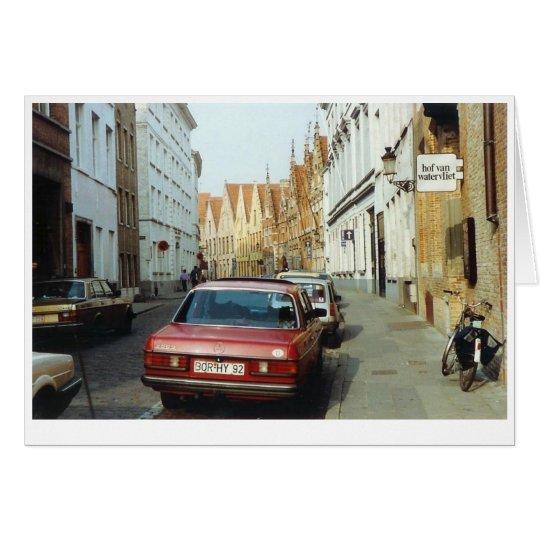 Belgian Street Card