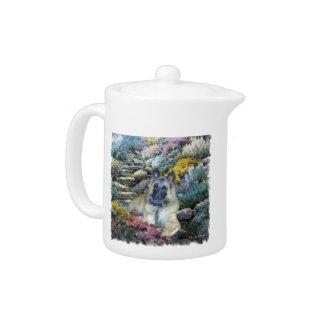 Belgian Tervuren Art Teapot