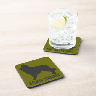 Belgian Tervuren Beverage Coaster