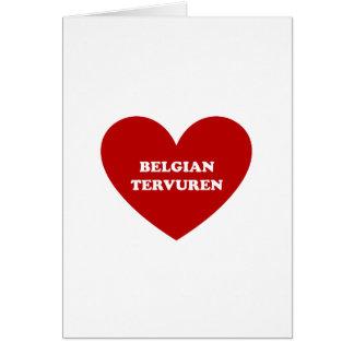Belgian Tervuren Card