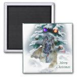 Belgian Tervuren Christmas Gifts 2 Inch Square Magnet