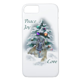 Belgian Tervuren Christmas iPhone 7 Case