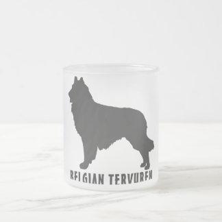 Belgian Tervuren Frosted Glass Coffee Mug