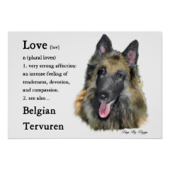 Belgian Tervuren Gifts print