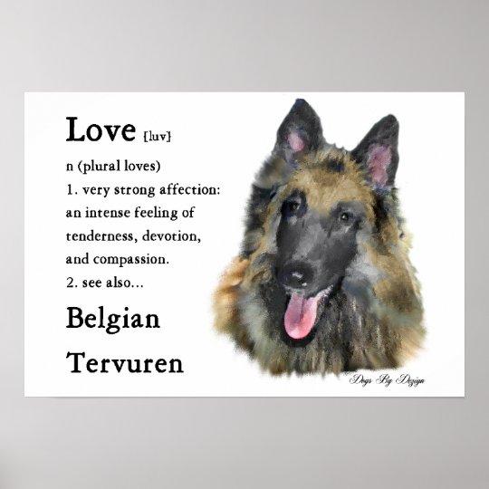 Belgian Tervuren Gifts Poster