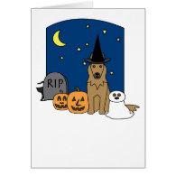 Belgian Tervuren Halloween Cards
