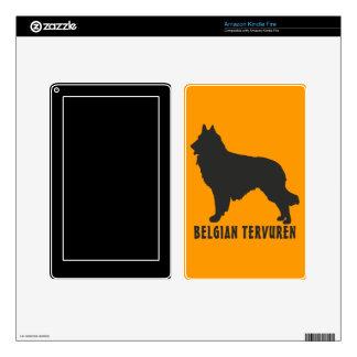 Belgian Tervuren Kindle Fire Decal