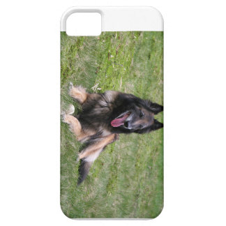 belgian tervuren laying.png iPhone SE/5/5s case
