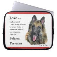Belgian Tervuren Love Is Computer Sleeves