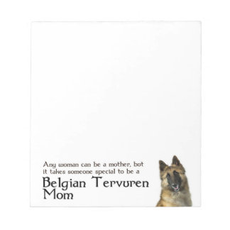 Belgian Tervuren Note Pad
