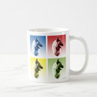Belgian Tervuren Pop Art Coffee Mug