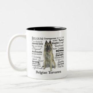 Belgian Tervuren Traits Mug