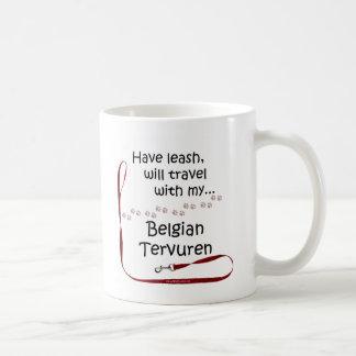 Belgian Tervuren Travel Leash Coffee Mug