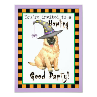 Belgian Tervuren Witch Card