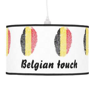 Belgian touch fingerprint flag hanging lamp