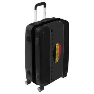 Belgian touch fingerprint flag luggage