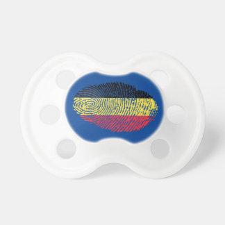 Belgian touch fingerprint flag pacifier
