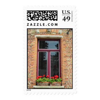 Belgian windowbox postage stamps