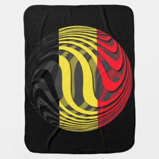 Bélgica #1 manta de bebé