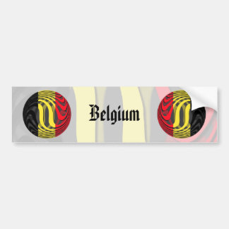 Bélgica #1 pegatina para auto