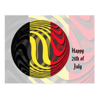 Bélgica #1 postal