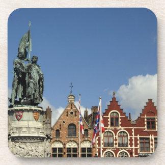 Bélgica, Brujas (aka Brug o Bruge). LA UNESCO Posavasos