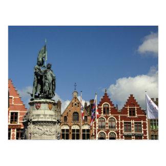 Bélgica, Brujas (aka Brug o Bruge). LA UNESCO Postal