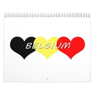 Bélgica Calendarios