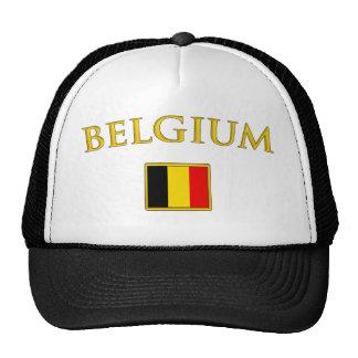 Bélgica de oro gorros