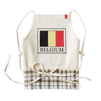 Bélgica Delantal Zazzle HEART