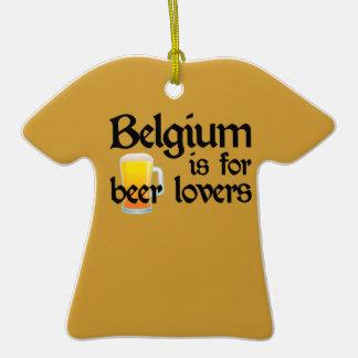 Bélgica está para los amantes de la cerveza ornamentos de navidad