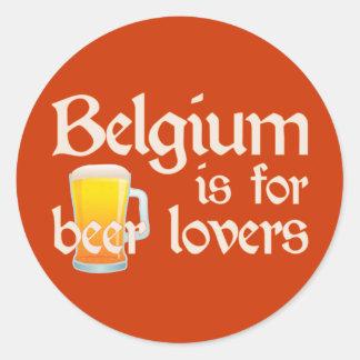 Bélgica está para los amantes de la cerveza pegatinas