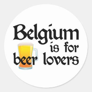 Bélgica está para los amantes de la cerveza etiqueta