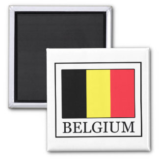 Bélgica Imán Cuadrado