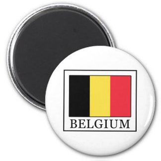 Bélgica Imán Redondo 5 Cm