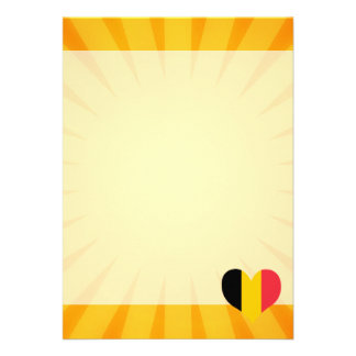 """Bélgica linda superventas invitación 5"""" x 7"""""""
