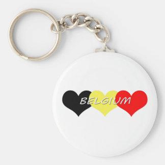 Bélgica Llavero Personalizado