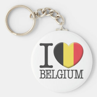 Bélgica Llavero Redondo Tipo Pin
