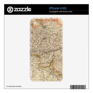 Bélgica, Luxemburgo iPhone 4 Skins