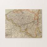 Bélgica, Luxemburgo Puzzle