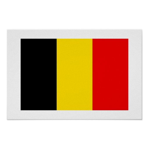 Bélgica Poster