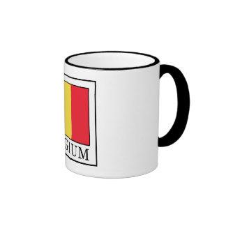Bélgica Taza De Dos Colores