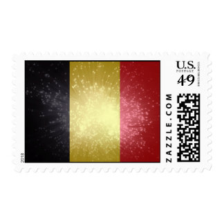 België; Belgium Flag Postage Stamps