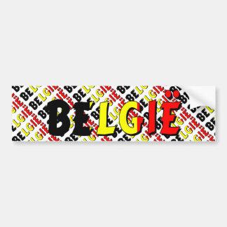 België Bumper Sticker