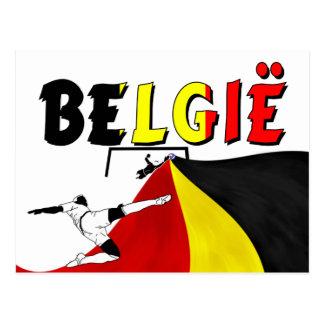 België Postcard
