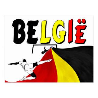 Belgie Postcard